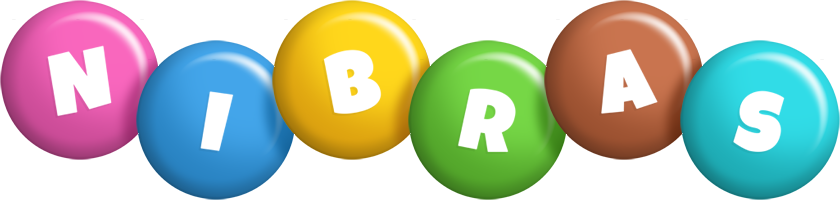 Nibras candy logo