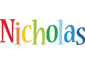 Nicholas birthday logo