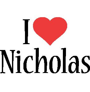 Nicholas i-love logo