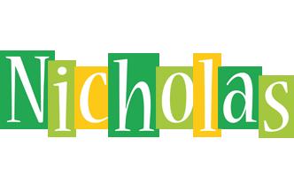 Nicholas lemonade logo