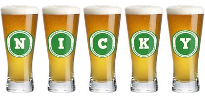 Nicky lager logo