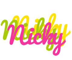 Nicky sweets logo