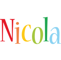 Nicola birthday logo