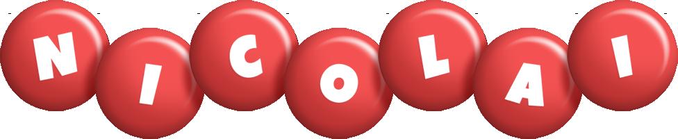 Nicolai candy-red logo