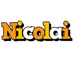 Nicolai cartoon logo