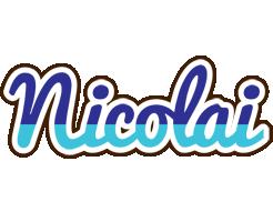 Nicolai raining logo
