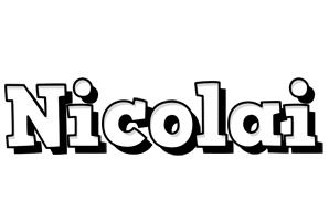 Nicolai snowing logo