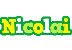 Nicolai soccer logo