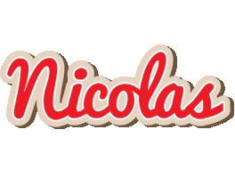 Nicolas chocolate logo