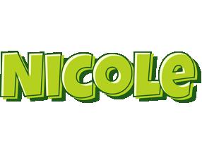Nicole summer logo