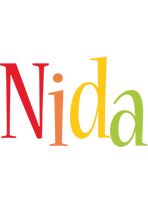 Nida birthday logo