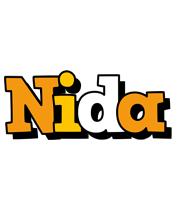 Nida cartoon logo