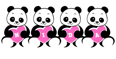 Nida love-panda logo