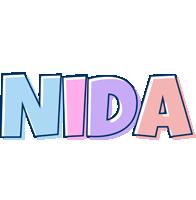 Nida pastel logo
