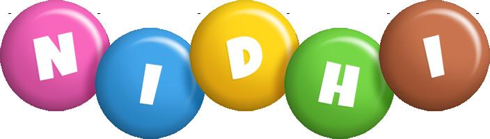 Nidhi candy logo