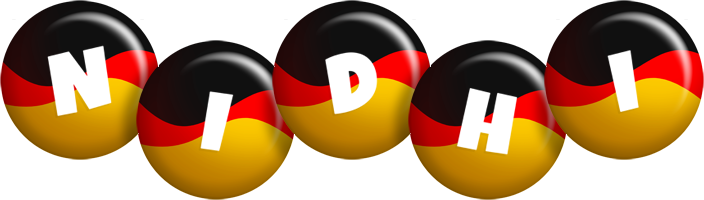 Nidhi german logo