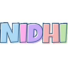 Nidhi pastel logo