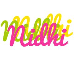 Nidhi sweets logo