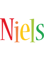 Niels birthday logo