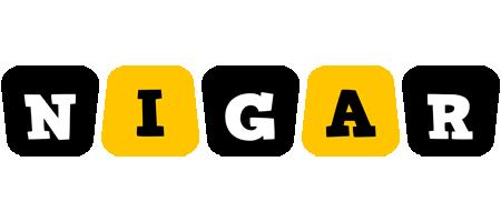 Nigar boots logo