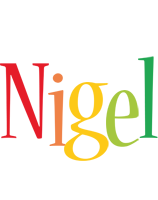 Nigel birthday logo