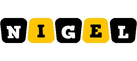 Nigel boots logo