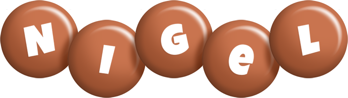 Nigel candy-brown logo