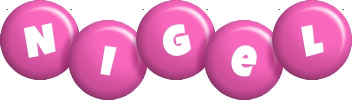Nigel candy-pink logo
