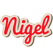 Nigel chocolate logo