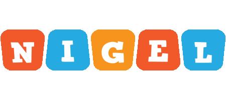 Nigel comics logo