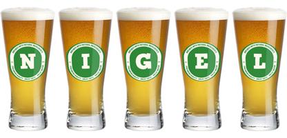 Nigel lager logo