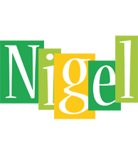 Nigel lemonade logo