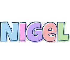 Nigel pastel logo