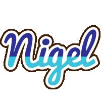 Nigel raining logo