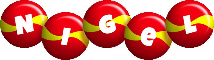 Nigel spain logo