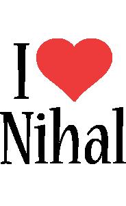 Nihal i-love logo