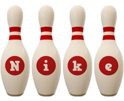 Nike bowling-pin logo