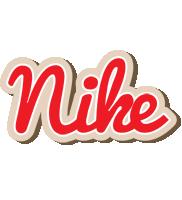 Nike chocolate logo