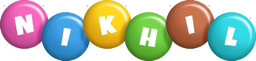 Nikhil candy logo