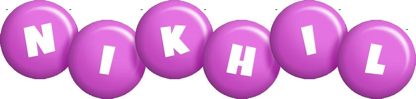 Nikhil candy-purple logo
