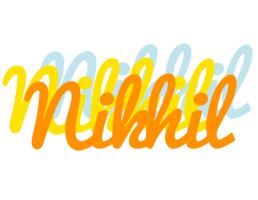 Nikhil energy logo