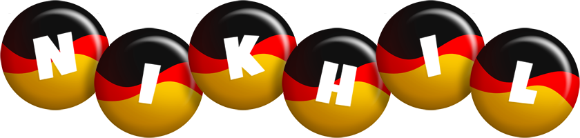 Nikhil german logo