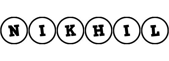 Nikhil handy logo