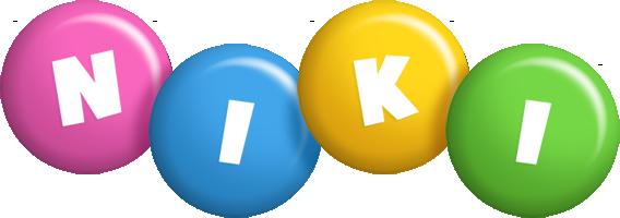 Niki candy logo