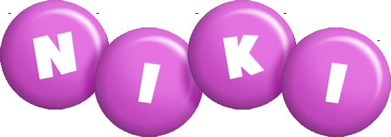 Niki candy-purple logo