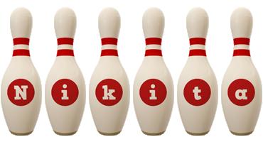 Nikita bowling-pin logo