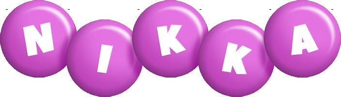 Nikka candy-purple logo