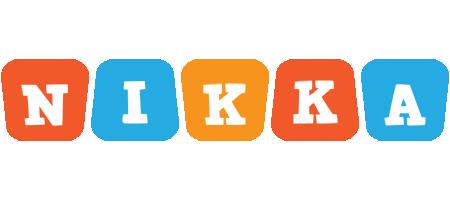 Nikka comics logo