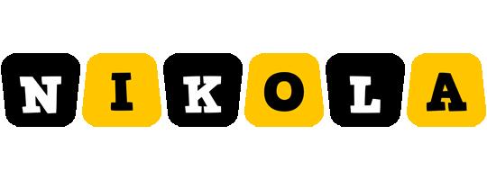 Nikola boots logo