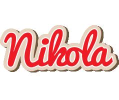 Nikola chocolate logo